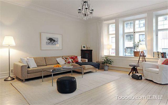 6平米客厅如何装修之浅色调