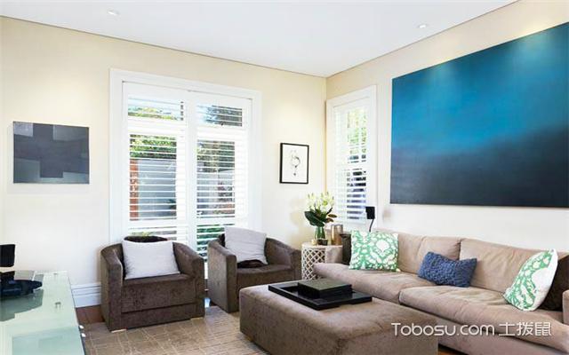 6平米客厅如何装修之灯具选择