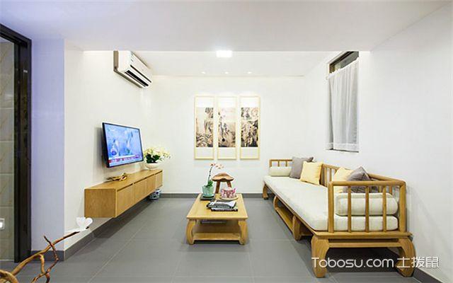 6平米客厅如何装修之地面设计