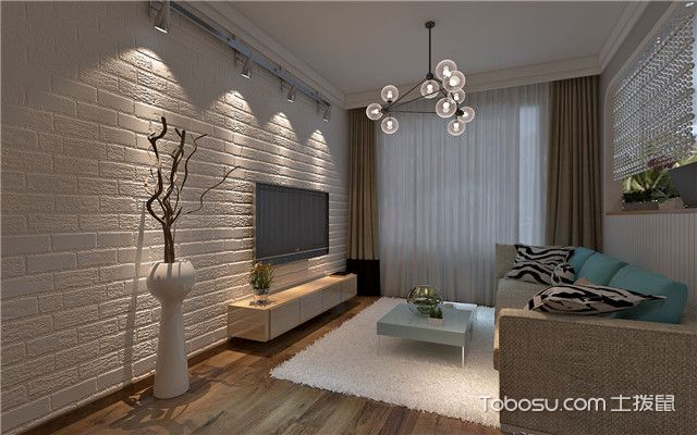 4平米小客厅装修预算清单之灯具