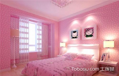 女生卧室装修效果图,女生房间装修设计