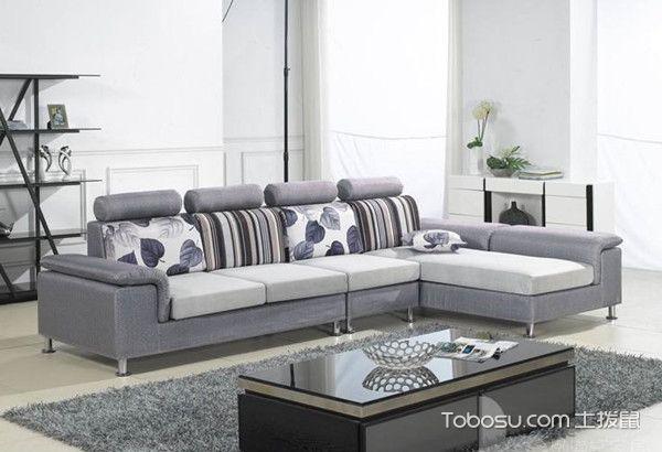 小户型L型布艺沙发选择,L型布艺沙发搭配客厅案例精选