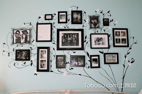 照片墙怎么布置好看,照片墙布置装饰画技巧