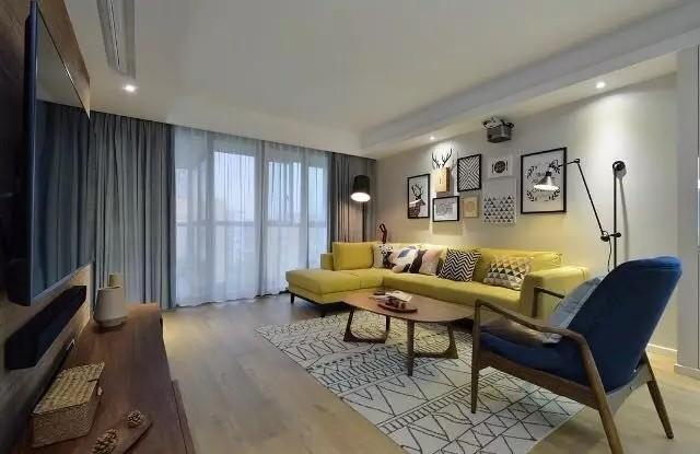 15万就能打造125平的北欧宜家三居室