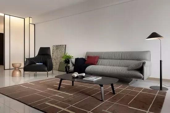 97平简约风格两居室装修设计,小空间也有大气质