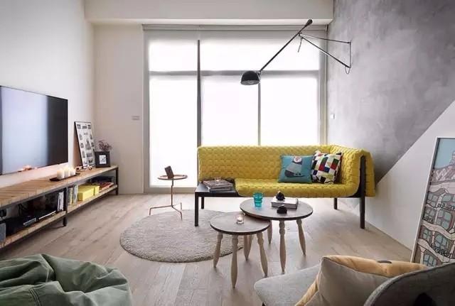 93㎡房屋室内简单装修设计,轻松自在更美好