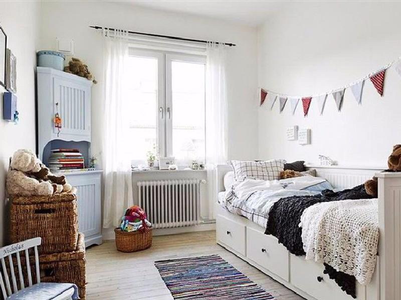 案例   90㎡北欧二居室,雪白透亮的温馨