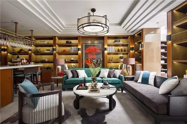 新中式别墅设计案例,这样的才叫顶级!