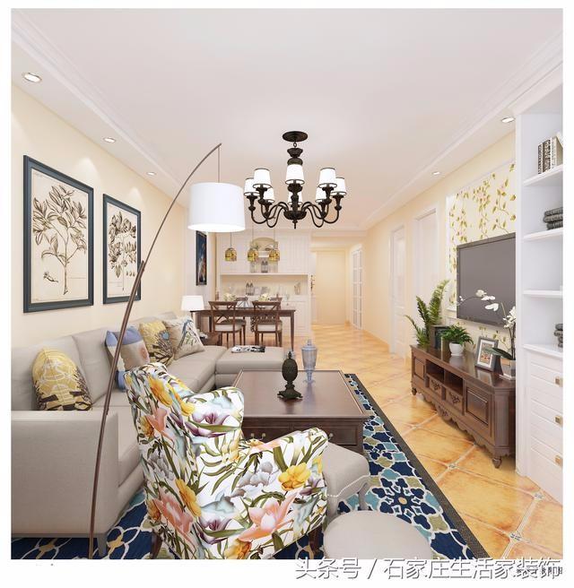 你想让二室户型设计的与众不同吗石家庄小成本大设计的典范。