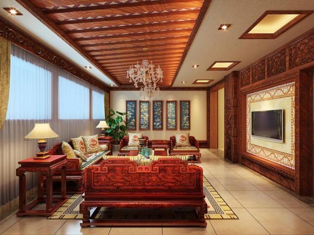 古典的中式风格装修,回归纯朴的传统文化
