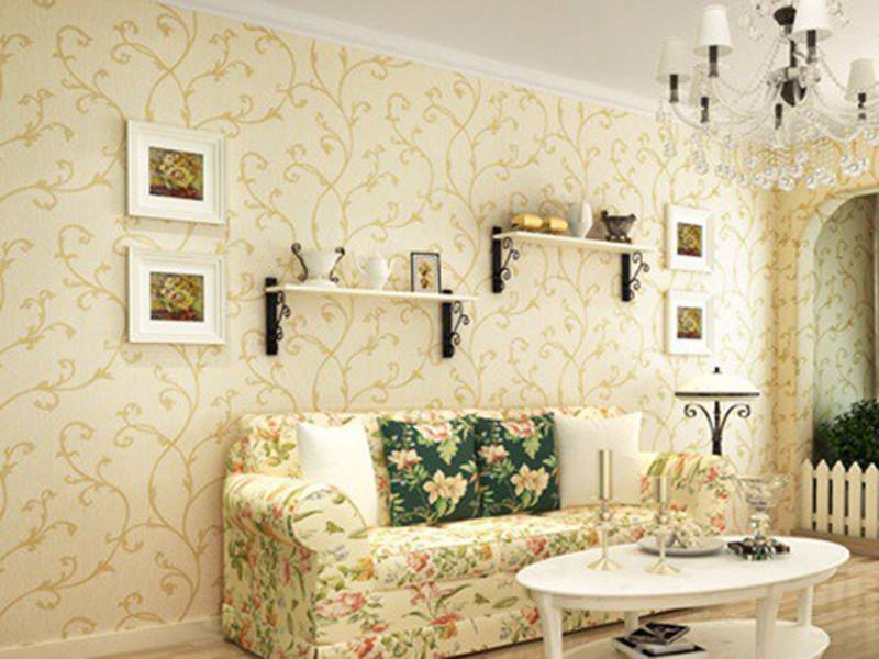 壁纸颜色搭配有讲究,不同居室不同选择