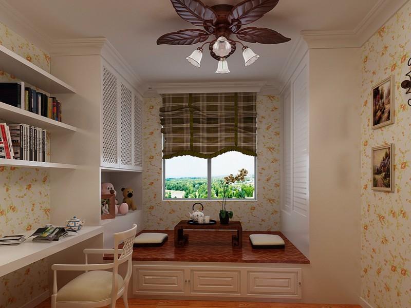 有一种书房,叫多功能榻榻米书房!