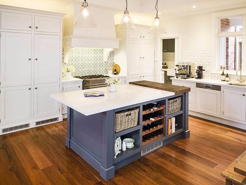 厨房空间小,做好规划一样完胜大空间