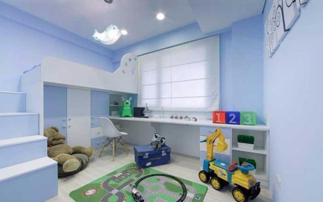 130平高端大气的现代简约三居室,7w硬装超有质感