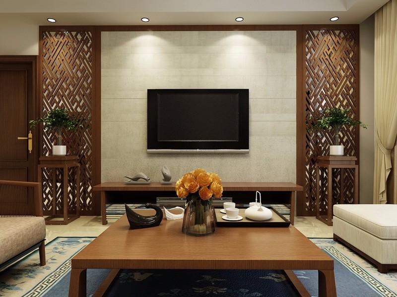 116㎡新中式三居室装修,愿来年平安喜乐