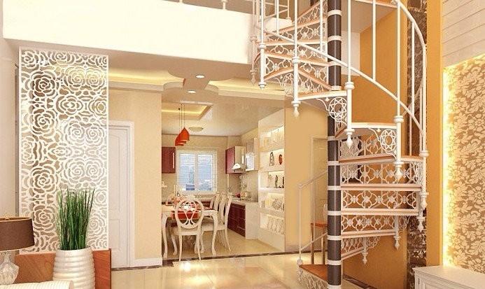 复式的楼梯怎么设计