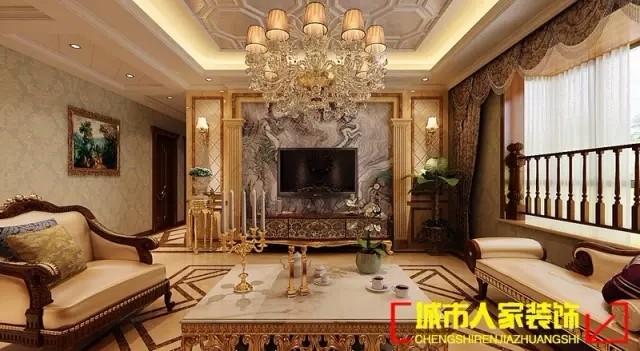 欧式风格展现一种含蓄 奢华美!