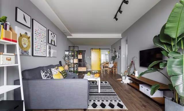 88平简约装修,你想要的简洁又大气的家