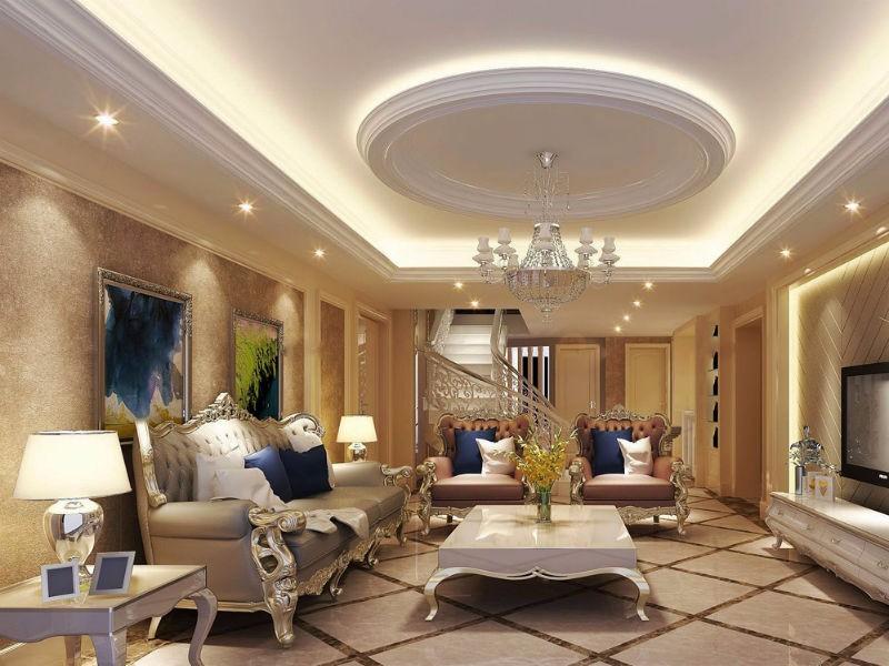客厅装修吊顶的设计方法
