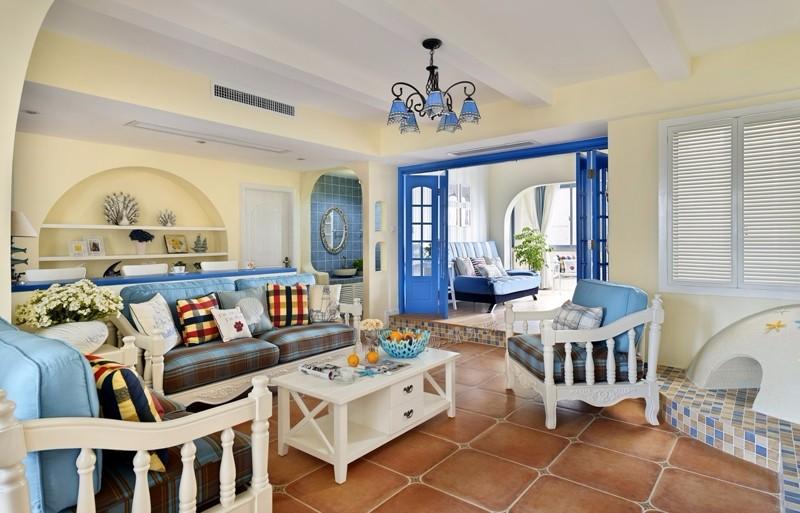 146平地中海风格住宅,爱情荡漾之地