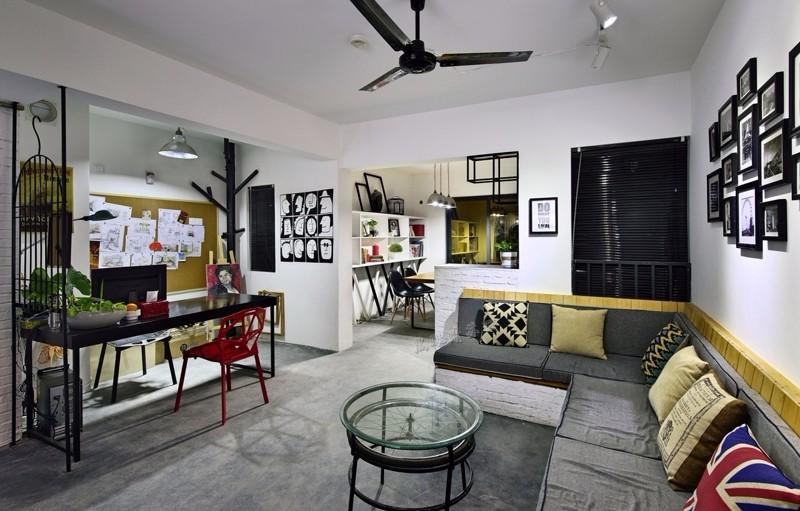 DIY个人工作室,50平米2万元轻松打造