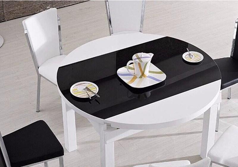 折叠餐桌效果图分析,超省空间
