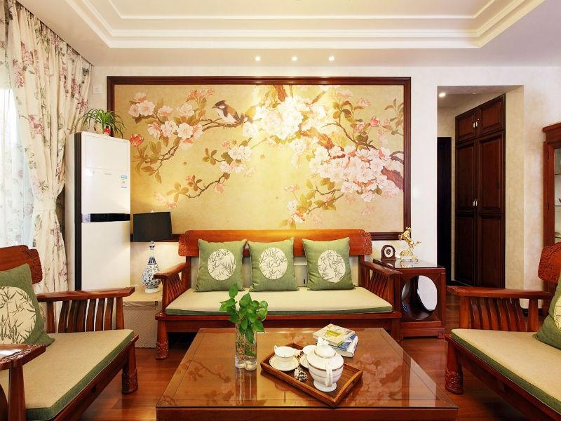 沙发背景墙效果图,让客厅更加丰富多彩