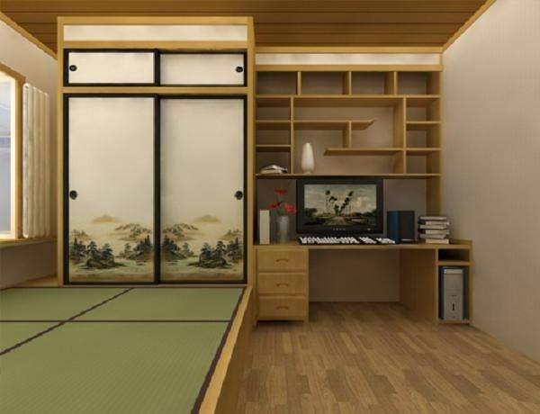臥室榻榻米裝修效果圖,體會不一般的休息環境