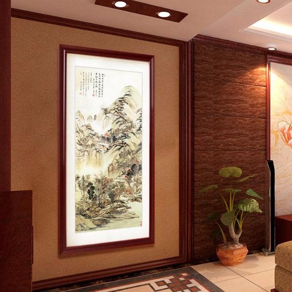 玄关处的装饰画,整个家的风水就靠一张画