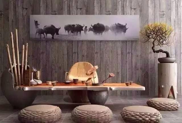 新中式小小茶室,诗意栖居!