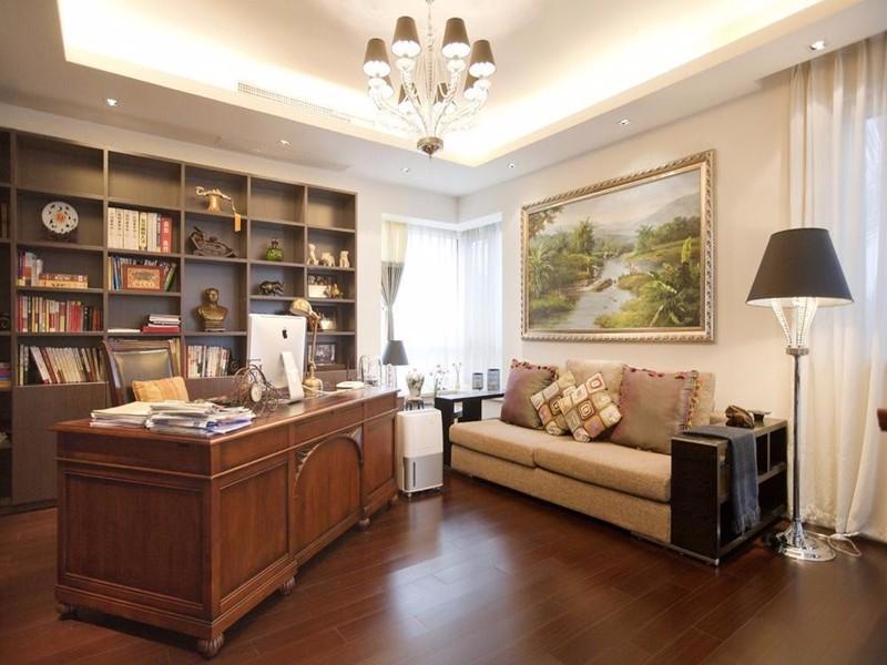 书房设计,让你的书房更加舒适美观