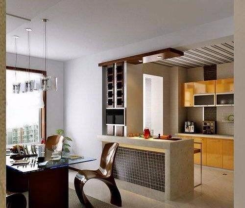 厨房隔断,别让油烟污渍污染家庭环境