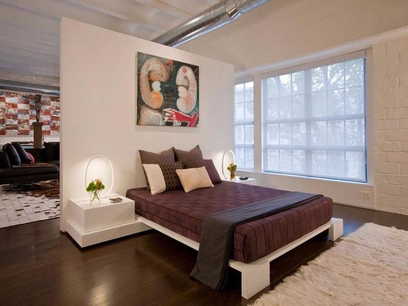 客厅与卧室隔断墙设计,一点心思,两方天地