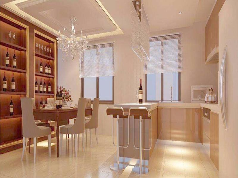 开放式厨房吧台设计要点