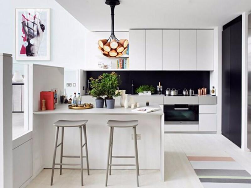 开放式厨房吧台尺寸标准