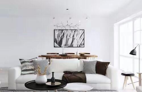 從背景,家具色,軟裝三個方面教你家居配色之道