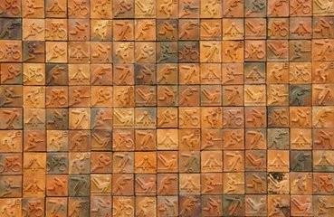 客厅用墙纸还是瓷砖