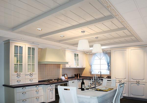 地中海风格厨房吊顶如何装修?
