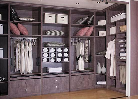 衣柜效果图,给你一个宽敞美观的卧室