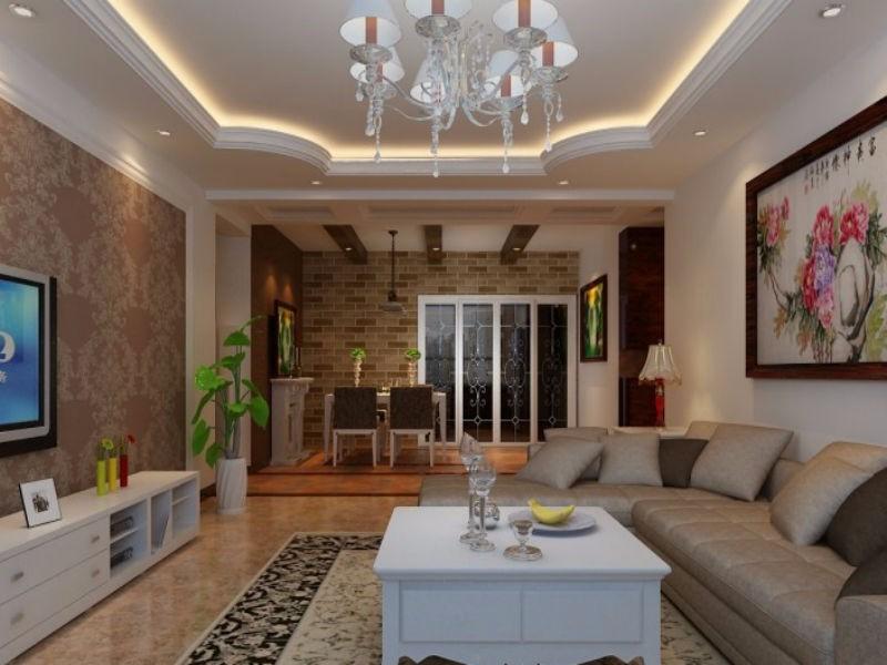 欧式客厅吊顶效果图,你最爱哪一款?