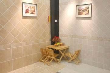 地砖能当墙砖使用吗,地砖上墙注意事项
