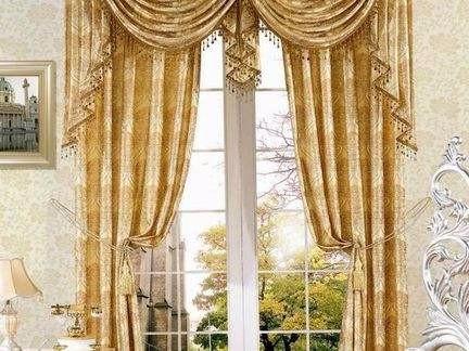欧式客厅窗帘效果图,来一场光与影的视觉盛宴
