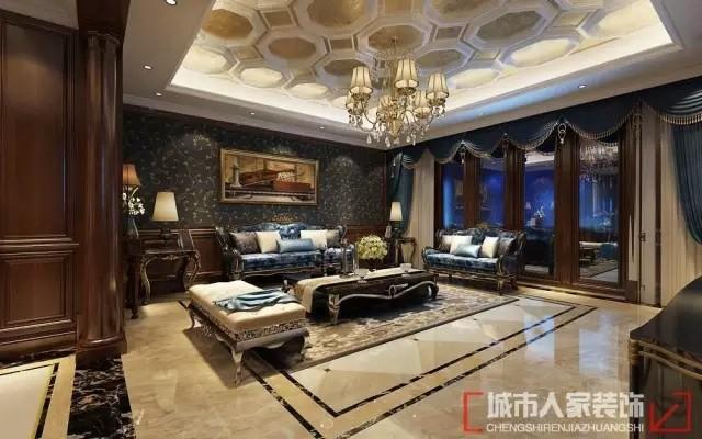 尊贵典雅的时尚住宅,240平米让您眼前一亮