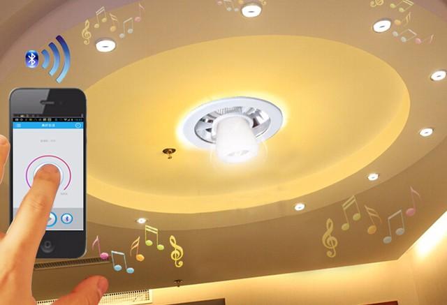 蓝牙吸顶灯,智能家装灯具新选择
