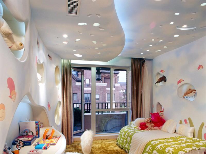 异形灯带,让你家的吊顶更加美观