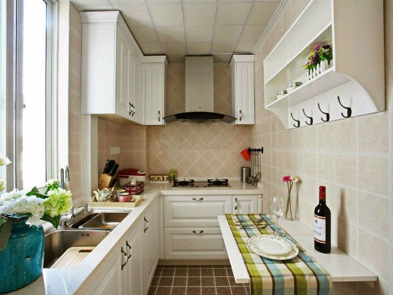 小户型厨房也可以很大气,关键看怎么设计!
