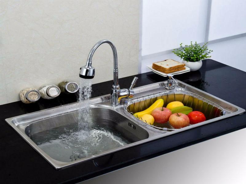 厨房水槽堵了怎么办?这些方法很实用!