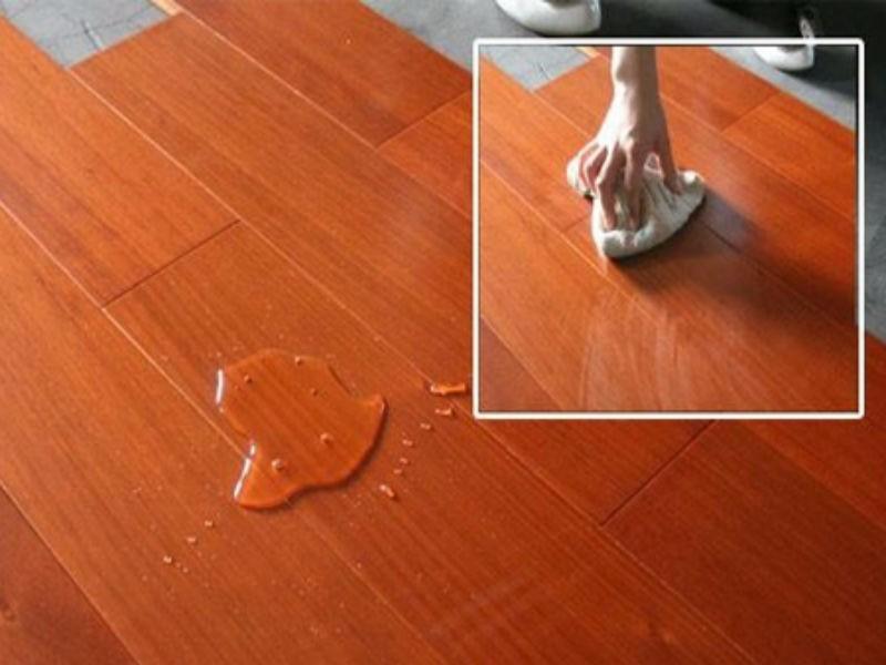 木地板浸水,不同情况下的应对方法!