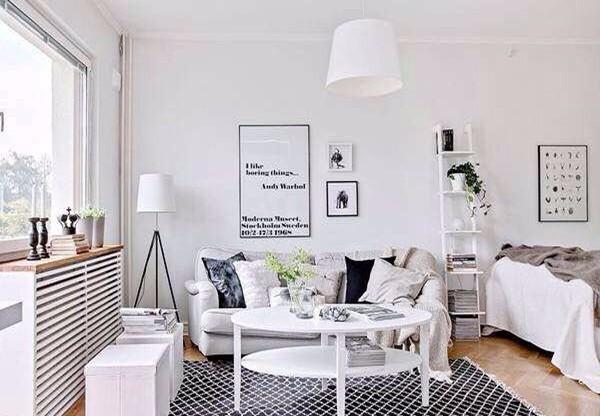 三招完美解救你的房间过暗问题,打造通透居室