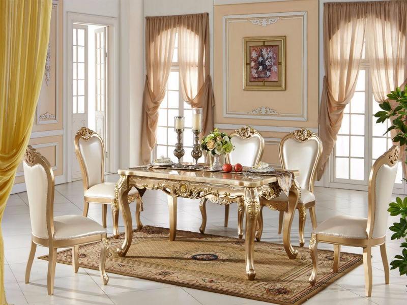 三种风格的欧式餐桌,你中意哪个?